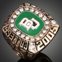 Campeonato Mundial Universitario de la Universidad de Baylor N.CA.A.2005 Liga anillos aficionados de colecciones de alta gama Anillos