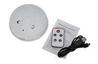 Wholesale Hot Spy Camera Remote Control Smoke Camera HD Cam Smoke Detector Security DVR Camera Motion Detection