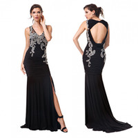 Pleated bodice detail evening dress