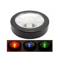 Wholesale new design plastic lighting up wine coaster with rgb led fading light for bottle decoration piect
