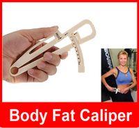 Wholesale Slim Body Fat Caliper Keep Slim Body Measure Caliper Personal Body Loss Fat Caliper Tester Accurate Measure Fitness Equipment