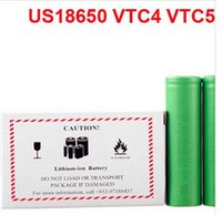 Wholesale Perfect Quality Battery VTC3 VTC4 VTC5 battery for e cigarette mod e cig V mAh mAh mAh DHL Shipping DHL