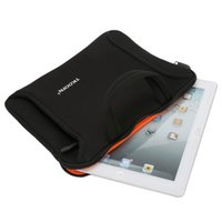 Wholesale TKOOFN inch Vertical Black Laptop Sleeve Tablet Bag Case Pouch for iPad Air Case C11004