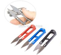 Wholesale Cutter Scissors Shears New Portable Embroidery Sewing Tool Snips Thrum Thread Mini