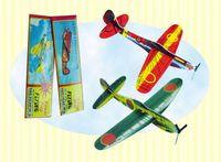 Wholesale New World War II Foam Glider Assorted Power Prop Flying Gliders Planes Aeroplane Kids Children DIY Puzzles Toys