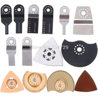 Wholesale 34pcs blade grinder whe saw kits renovator tools solid durable good quality for multimaster oscillating electric tools accessory order lt no