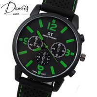 Wholesale New Arrival Brand Quartz Men Sports watch military Casual Watches GT Wristwatch Dropship Silicone Band Clock Fashion Hours