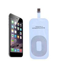 apple receiver - Qi Wireless Power Charger Receiver Film Wireless Charger Charging Receiver Module Sticker for Apple IPhone C S Plus