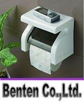 Wholesale llfa149 Powerful suction toilet roll holder toilet paper holder waterproof towel rack