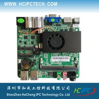 amd intel motherboard - M4102 ITX HCMS3J18 Baytrail J1800 Nano ITX Motherboard V DC STATA mini PCIE VGA HDMI Giga LAN ITX Mainboard