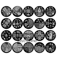 Wholesale JQ Series Chic Designs Nail Art Image Stamp Stamping Plates Manicure Template