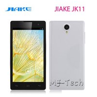 "Cheap Wholesale - Jiake JK11 5"" Capacitive Screen MTK6582 Quad Core 1.3GHz 1G+4G Android 4.2 WCDMA GPS Dual SIM 8.0MP Camera DHL free shiping"