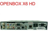 Cheap Wholesale-New Arrival Openbox x6 HD PVR DVB-S2 Digital Satellite Receiver 1080P HDMI Original Linux Operating System set top box
