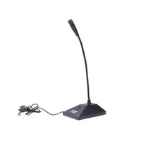 Wholesale New Arrival Wired Microphone professional microfone Gooseneck Condenser Desktop microfono mm Stereo Audio for PC computer