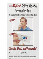 alcohol saliva test - by DHL Mini Rapid Alcohol Testing Strip Disposable Alcohol Tester Saliva Alcohol Tester