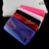 Wholesale Good quality X line TPU soft GEL Skin back Case cover For LG L Bello D331 D335