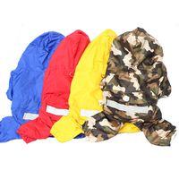 Wholesale Pet Dog Rain Coat Jacket Clothes Dogs Puppy Raincoat Waterproof Jacket