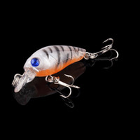 Wholesale 9pcs fishing tackle D eyes Plastic fishing lure Bass CrankBait Crank Bait Tackle fishing bait cm g