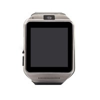 Wholesale Bluetooth Smart watch GV08 Stainless Steel Wire Drawing Design U Watch Wrist Watch Support G sensor with touch screen phone camera mate