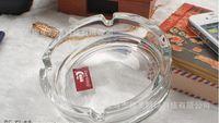 Wholesale cm diameter clear glass ashtray