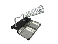 Wholesale Solder Iron Metal Rectangle Stand Holder Square Base Support Station for Soldering safe and high quality