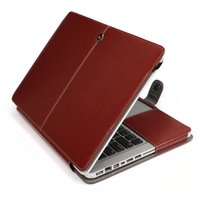 Wholesale Fashion PU Leather Cases Case Good Quality Protective Protector Sleeve Cover for Macbook Pro quot A1278 Laptop Cover