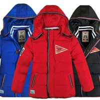 baby apparels - Hot selling Boys Down Boy Cold Winter Hoody Coat Children s Warm Down Coat Baby Boys Thickening Duck Down Jacket Kids Apparels