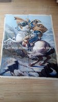 Wholesale Needlepoint Woolen Tapestry carpet handmade Napoleon Bonaparte design tapestry