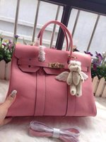 Wholesale 2015 new arrival women s casual genuine leather cowhide hobos hot sale handbags totes fashion cm