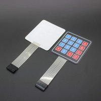 Wholesale hot sell Matrix Array Matrix Keyboard Key Membrane Switch Keypad for arduino X4 Matrix Keyboard free shippi