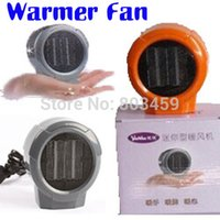 ceramic heater - Mini Portable Personal Ceramic Space Heater Electric Heaters V V Warmer Fan Forced Grey Orange A3