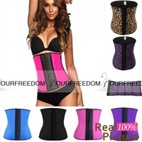 best corset for plus size - New Sexy Rubber Short Vest Waist Training Corsets Underbust Shop Best Underwear Body Shaper Shapewear for Sale Plus Size Women Weight Loss