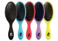 Wholesale 2016 Wet Brush clone Wet Combs Queen Styler Purple Professional Detangling Tangle Shower Hair Brush Teezer Hair Brushes Combs