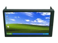Wholesale High Brightness DIN Inch LED Touch Screen Monitor with VGA and Auto Switching AV2 for Reverse Camera for Car PC