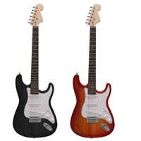 Wholesale New Arrival Single Tremolo Durable Electric Guitar Basswood Body Rosewood Fingerboard Steel String with Gig Bag Picks Strap I1269