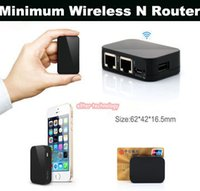 Wholesale Mini Wireless N Router Wifi Repeater Wifi Router Network Wi Fi Router tiggou2