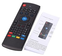 air mx - X8 MX3 MX Ghz Wireless Air Fly Mouse Keyboard For M8S MXQ MXIII Android TV Box UniversalTV Remote Control without MIC