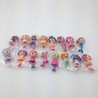 Wholesale New MGA mini CM Lalaloopsy Doll the bulk button eyes PVC toys for girl classic toys Brinquedos gift