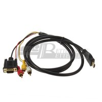 Wholesale Recent High Quality HDMI to VGA RCA Adapter Cable
