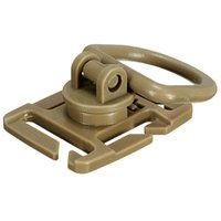 Wholesale 2Pcs Pair MM MM Webbing Black Khaki Colors MOLLE Sternum Strap System Swivel D Ring Rotation Buckle