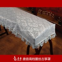 acoustic cloth - Tang Yin lace cloth cover Biyuexiuhua Guzheng zither accessories Cheap Dust cover zither harp sets