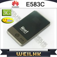 Wholesale Huawei E583C G UMTS WLAN E5 Modem Hotspot Portable WIFI Router