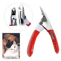 Wholesale Profession Pet Dog Cat Nail Toe Claw Clippers Scissors Trimmer Groomer Cutter hightquality top sale