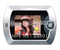 Wholesale 2014 Latest Diy Hotsale Photo shooting sensor motion detection video peephole viewer door eye support TFT card