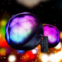 best wireless switch - Mini Magic Color Ball wireless Bluetooth Portable Ball Speaker with remote control home LED Flash Light Best for Christmas Xmas