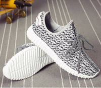 Wholesale trainers350 Milan West Boost Classic Gray Black Men s Fashion Sneaker Shoes With Box Sports Shoes