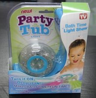 Wholesale hot sales Party in the tub Kids Bath Toy chirdren bathtub Light toy CTN