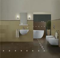 floor tile - 9mm Ultra Thin LED Deck Floor Light Outdoors RGB LED Driver Widely Used for Tiles Carpet Wooden Floor Decoration Manufacturer Sale
