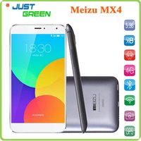Wholesale Hot Sale Meizu MX4 G Smartphone Flyme OS Based on Android MTK6595 Octa Core GB GB quot Gorilla Glass Screen MP G FDD LTE
