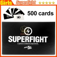 basic toys - 2015 Most Popuar Card Games Superfight Cards Card Core Deck Playing Cards Also Have Basic And Expansion Cards In Stock DHL Free